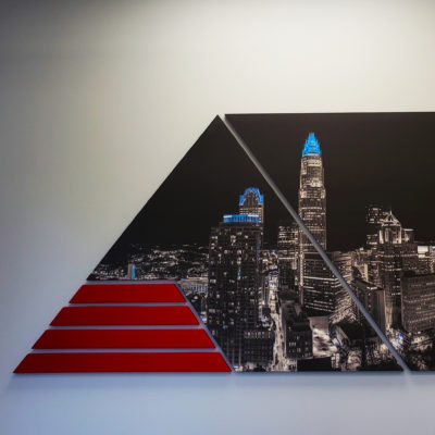 Printed Skyline Panel